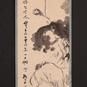 冈本柳南,鹭图