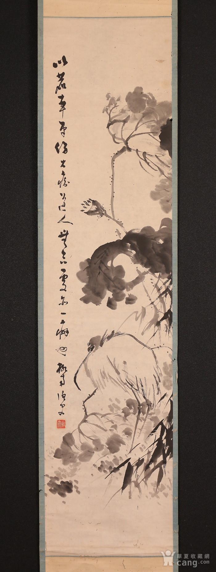 冈本柳南,鹭图图1
