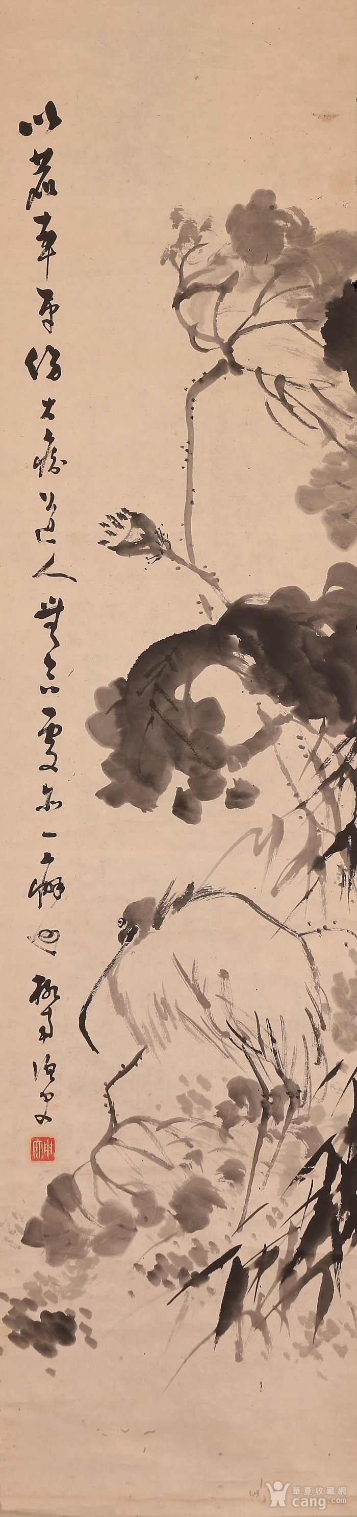 冈本柳南,鹭图图2