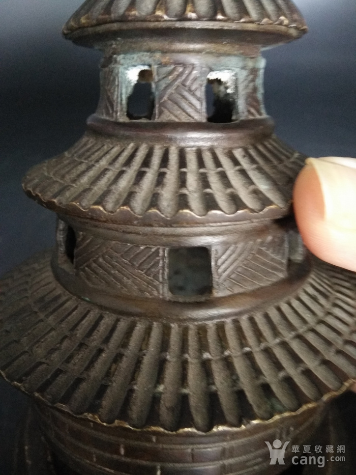 清金铜香炉图1