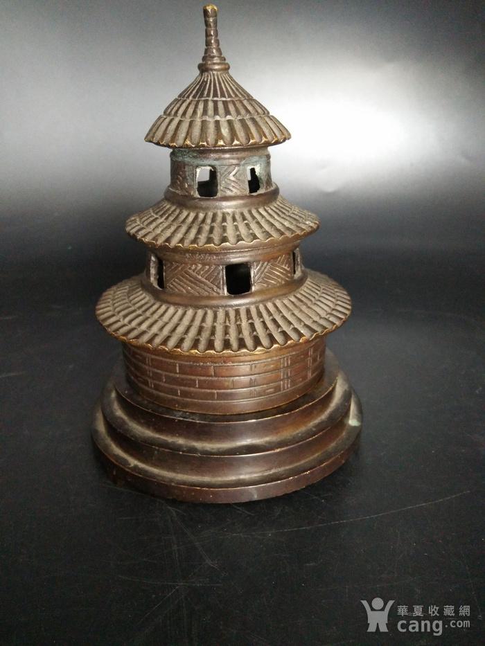 清金铜香炉图4