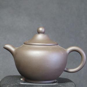 80年代斗笠紫砂壶