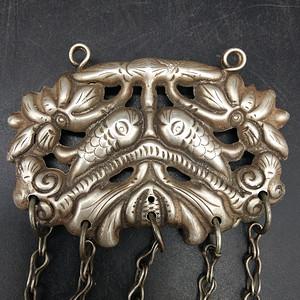 老银饰挂件