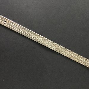 8012欧洲回流意大利银工表链手链