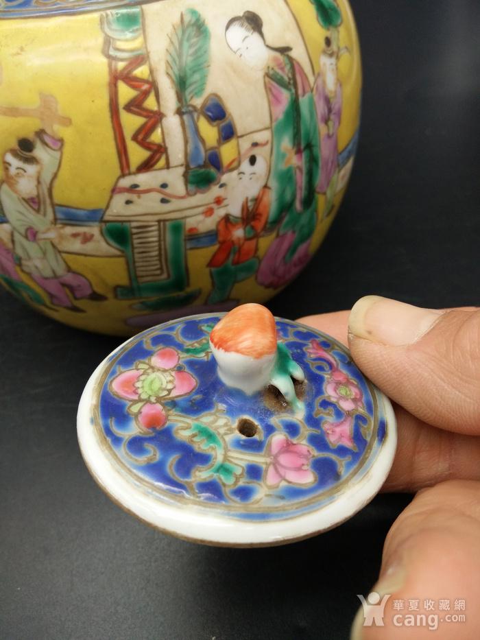清同治粉彩茶壶图7