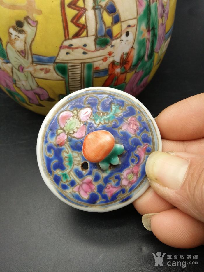 清同治粉彩茶壶图8