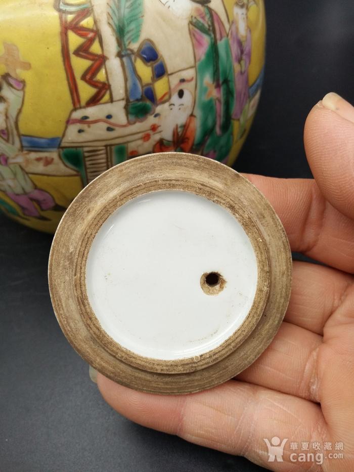 清同治粉彩茶壶图9
