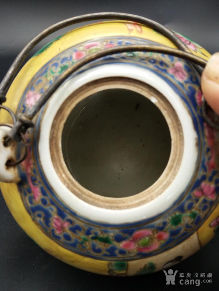 清同治粉彩茶壶图10