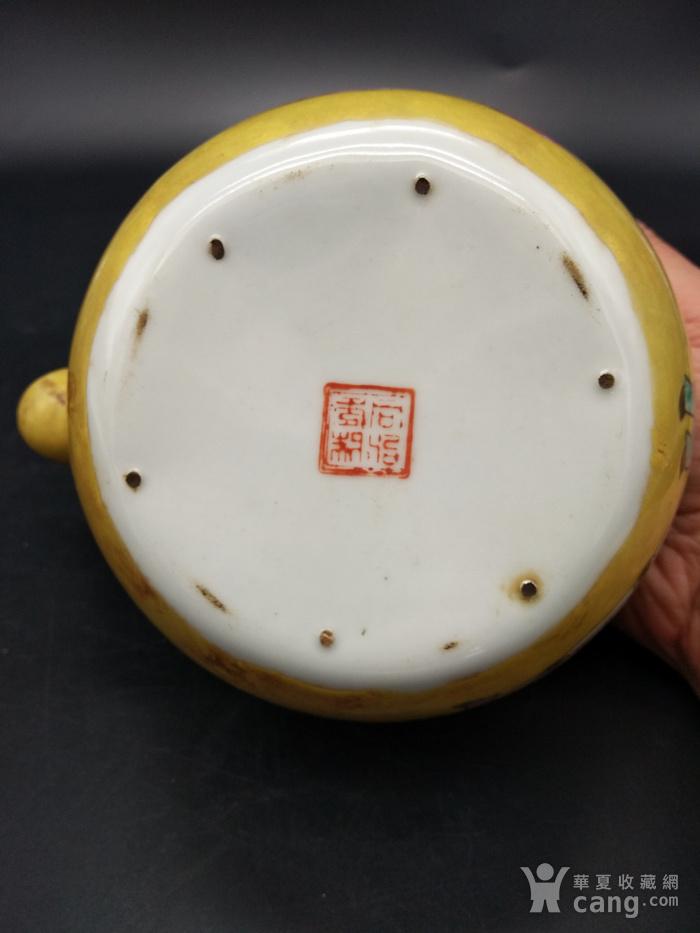 清同治粉彩茶壶图11