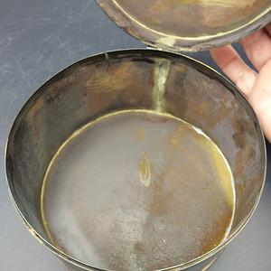 清铜手稀盒