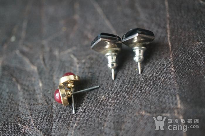 欧洲装饰耳环2付图7