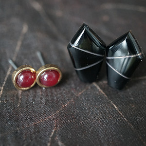 欧洲装饰耳环2付