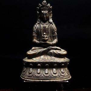 精美鎏金铜造像