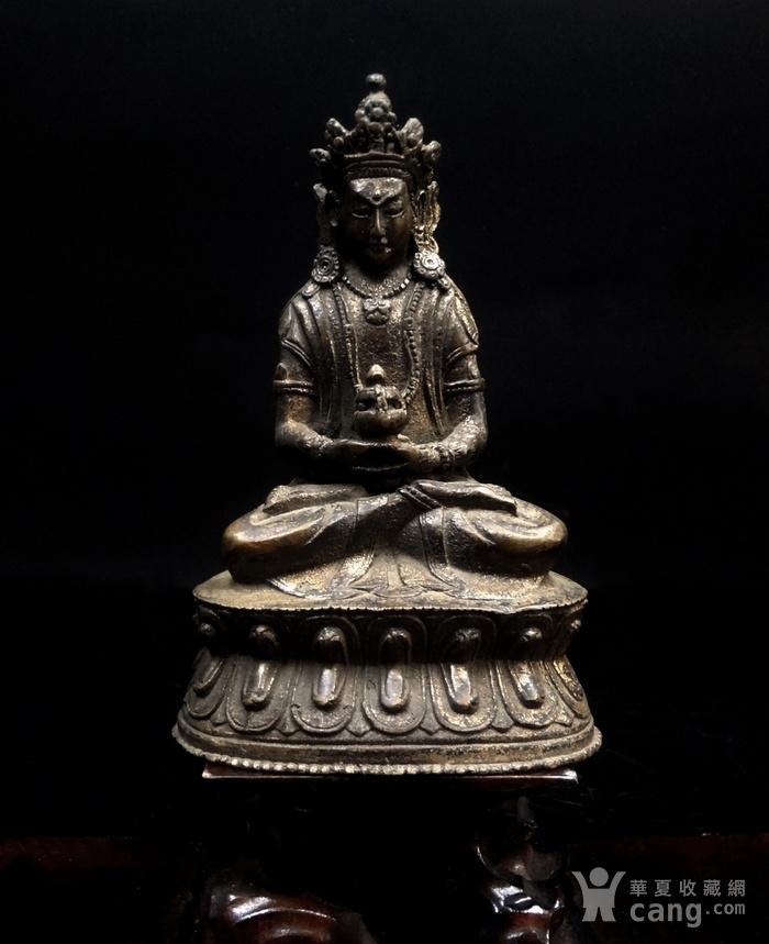 精美鎏金铜造像图1