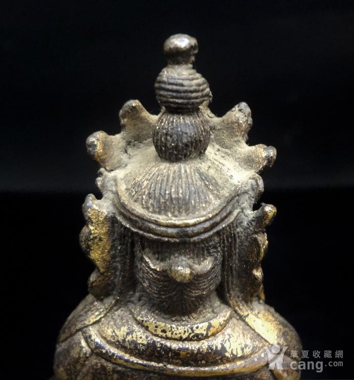 精美鎏金铜造像图8