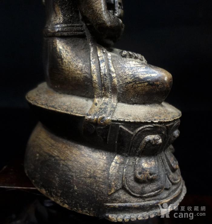 精美鎏金铜造像图7