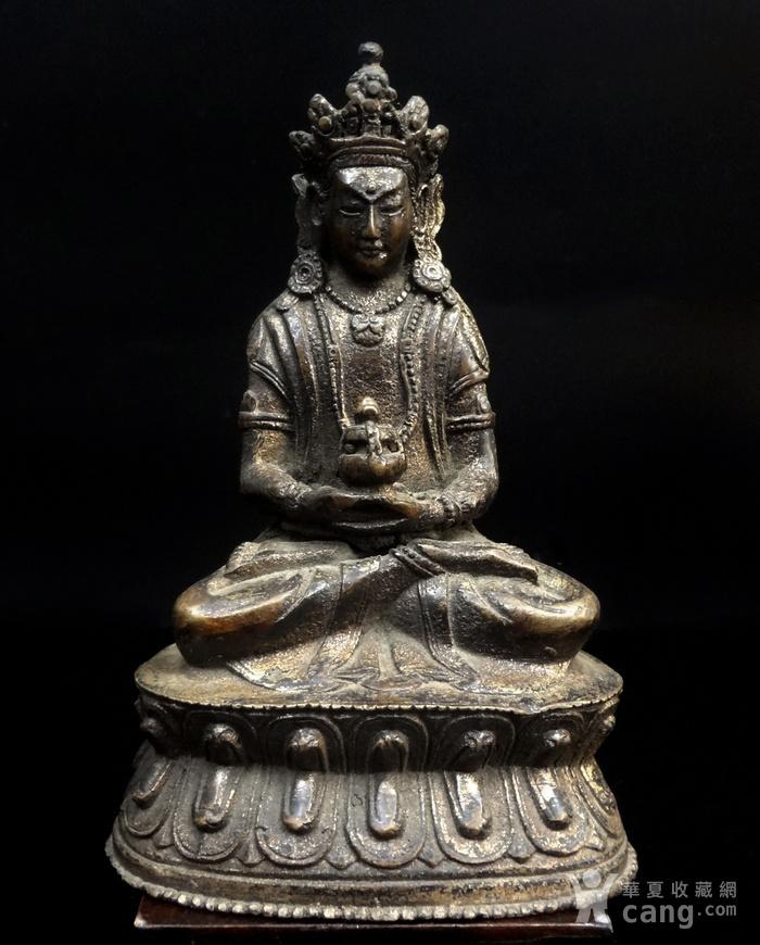 精美鎏金铜造像图9