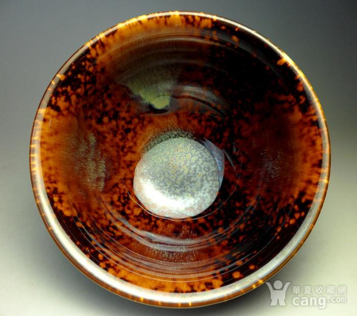 漂亮茶盏!德化瓷窑变釉建盏茶盏!图5