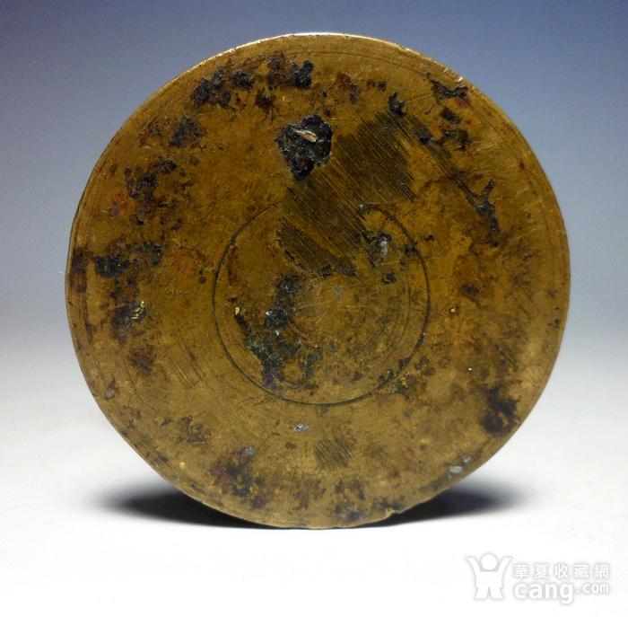 民国老铜墨盒!特色收藏!N图12