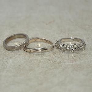 回流戒指三枚9.9克
