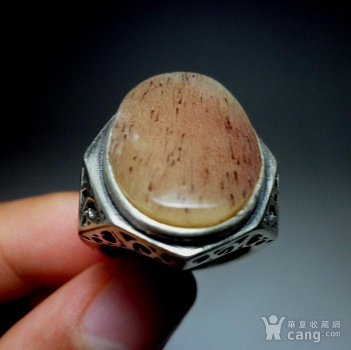 925银镶嵌辟邪大戒指!图11