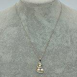 4.8克镶珍珠吊坠项链
