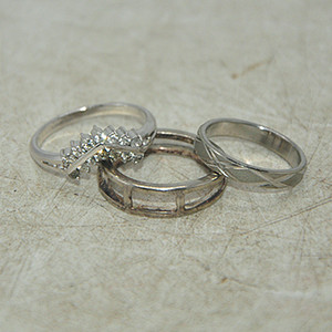 回流戒指三枚6.7克