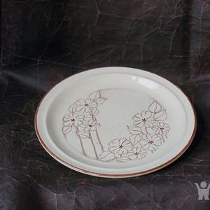 西洋手绘古董瓷盘