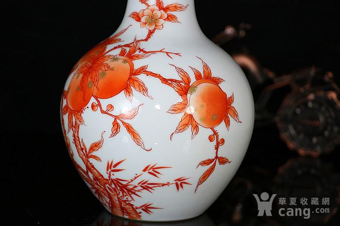 老矾红桃胆瓶图8