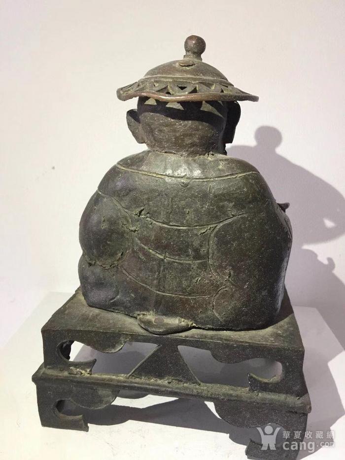 清代铜雕罗汉图2