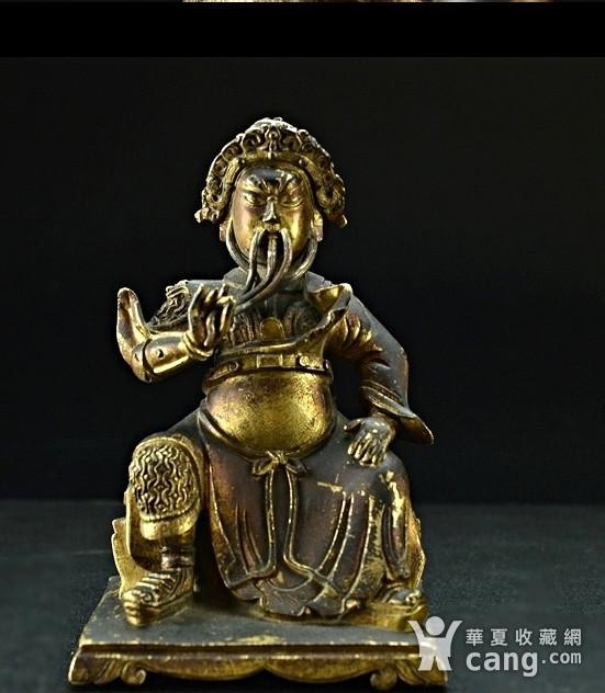 清代中期乾隆官造关公图1