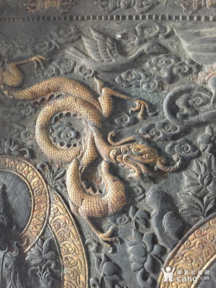 清代乾隆宫廷铜浮雕佛像三尊图8
