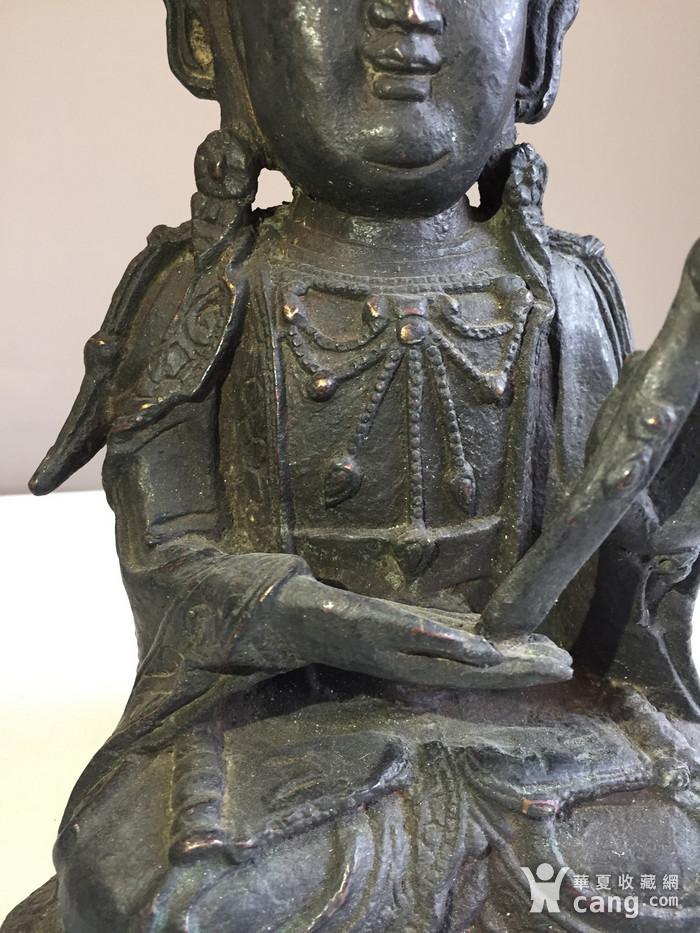 明代如意观音铜雕图4