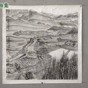江苏画院院长 周京新 水墨山水