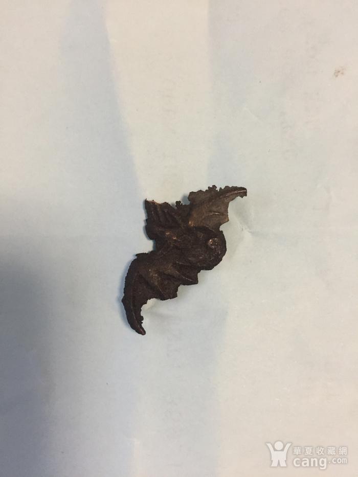 清代小铜蝙蝠图2