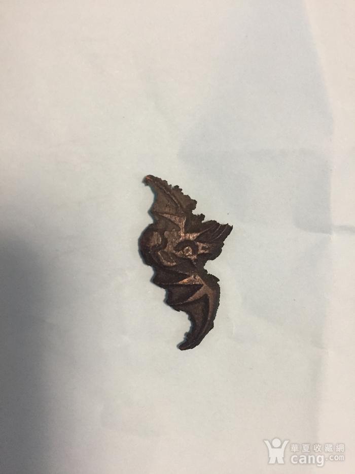 清代小铜蝙蝠图3