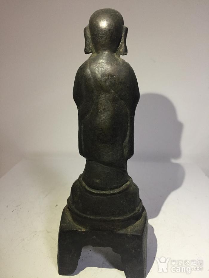 明代铜雕罗汉图4