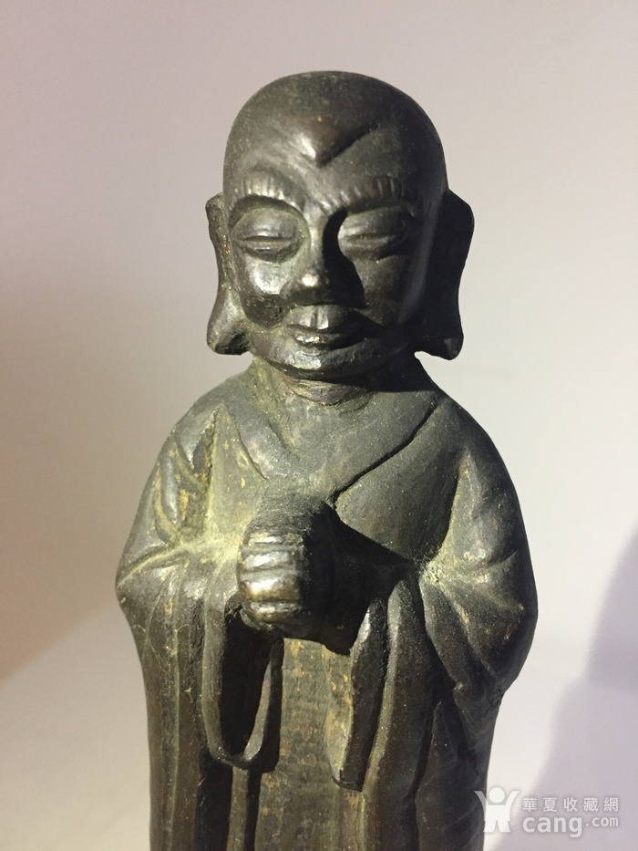 明代铜雕罗汉图7