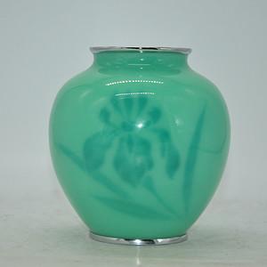 日本七宝烧花瓶