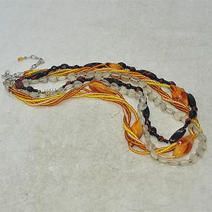 回流装饰项链三条78.6克