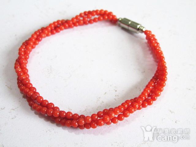 阿卡红珊瑚 手串 时尚漂亮图5
