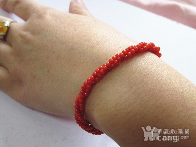 阿卡红珊瑚 手串 时尚漂亮图4