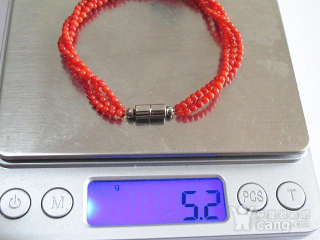阿卡红珊瑚 手串 时尚漂亮图1