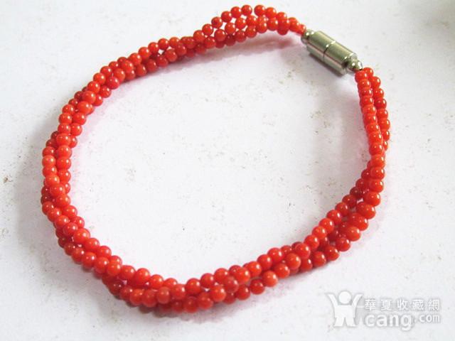 阿卡红珊瑚 手串 时尚漂亮图2