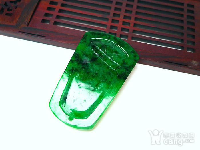 冰润满绿喜上眉梢吊坠图9