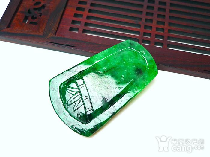 冰润满绿喜上眉梢吊坠图8