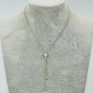8.8克镶 水晶吊坠项链