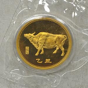 1985乙丑牛年纪念章