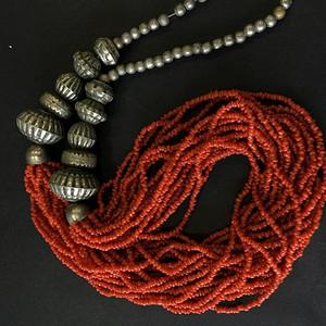 8117欧洲回流随形珊瑚项链