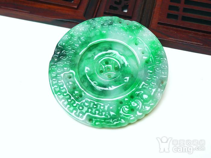 冰润满绿罗盘吊坠图4